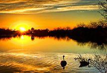 Sunrise, sunset & full moon scenes. / by KatKythera