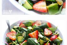 Salads / by Bronwyn McCarty