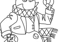 Craft - Printables/Colouring Pages / by Sami Shepherd