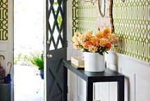 Entry Way Inspiration / by The Not So Desperate Chef Wife