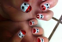 my girls nails / by Brandi Lortie