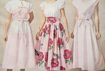 I love 30s - 50s fashion / by Nancy Brandt