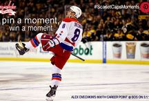 """Favorite 2013-14 Capitals Season Moments / Visit ScarletCaps.com for details on our """"Pin a Moment, Win a Moment"""" contest. Re-Pin any of these Pins or post your own #ScarletCapsMoments to enter. The contest opens Monday, March 31 and ends Wednesday, April 9 at 12p.m. / by Scarlet Caps"""