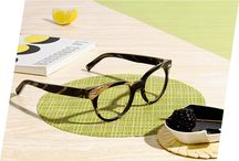 Palm Canyon Collection / We've refreshed some of our best-loved frames in a Palm Springs palette of mesquite, acacia, ironwood, and sand. Each frame features a hand-mixed acetate inset at the end piece, with patterns inspired by Color Field painters and midcentury minimalists. No two pairs are alike. http://warby.me/1nVJcFg / by Warby Parker