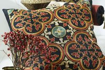 274 Moroccan Decor / Wonderful Morroccan style embroideries with chainstitches.  This collection includes all-over-fabric embroideries which can be combined into large beautiful motifs which resemble floor tiles. Other designs included in this collection can be combined freely into huge gorgeous motifs.  Perfect for Home dec or embellishing your garments. Hoop size 180x130-200x200  / by Husqvarna Viking® Sewing and Embroidery Machine