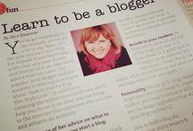 Blogging / by Marietta Schwalbe