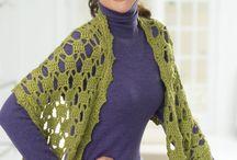 crochet shawls / by Karen Boudreaux