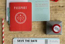 Invitation Design Inspiration / by Danielle Sheppard
