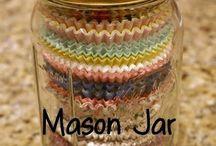 Mason jars / by Victoria Gomez