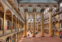 Inside & Out / Photos of our building: rain & shine, snow & sun, morning & evening / by National Building Museum