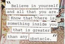 Inspirational / by Stephenie Hanson