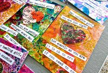 Truth Cards / photos of my completed TRUTH CARDS and truth cards in process.   / by Bonita Rose Kempenich