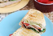 Strawberry Sandwiches & Paninis / by CA Strawberries