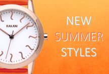 Summer Looks / Enjoy your summer in style / by RAKANI WATCHES