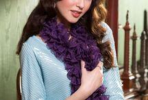 knitting/crochet scarf patterns / by Cody Baker