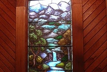 Stained Glass from Church's / by Betty Sanborn