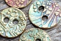 Handmade ceramic & polymer clay jewellery / Some of my favourite works with my favourite mediums!  / by Anita Bora