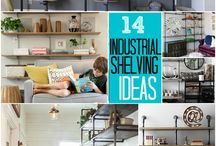 Industrial Shelving / by Michelle Archambeau Rippo