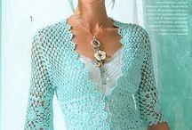 CRO/KNIT Women's Clothing / Items i like to Crochet / by Miriam cordero