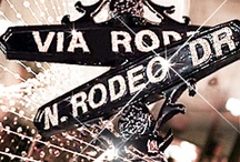 Rodeo Drive / Simply put, Rodeo Drive offers the most impressive shopping in Beverly Hills. On this famed palm-lined street, you'll be beckoned by the likes of Prada, Gucci, Valentino, Armani, Versace, Dior, YSL, Tom Ford, Cartier and Harry Winston. Rodeo Drive is the ultimate homage to fashion, jewels and art- its sidewalks lined with an endless parade of fascinating, beautiful people from around the world. / by Beverly Hills