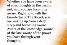 The Secret / The Law of Attraction / by Andrea