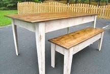 Kitchen Table Bench  / by Megan MacNamara