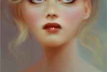 { fantasy artists } / Anne Stokes, Nikki Burnette, Molly Harrison, Nene Thomas, Melanie Delon, Selena Fenech / by Avalon Moonsong