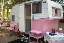 Vintage camper trailer / by ThrottleQueen Atomic Kim