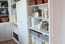 Craft room ideas  / by Connie Stewart - - Simply Simple Stamping