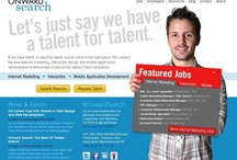 Job Search on Pinterest / Find the best User Experience, visual and web design, web development, mobile, interactive project management, internet marketing, social media, and related careers @ Onward Search! http://www.onwardsearch.com CT, DC, TX, CA, GA, IL, NYC / by Jennifer Brabson