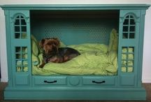 dog bed ideas / by Sherry Brown