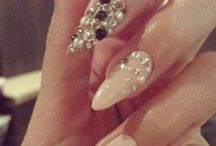 Stiletto Nails / by Cleopatra♔ Huff