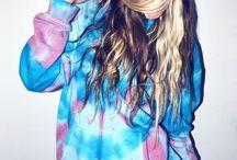 tie dye / by Emma Myers
