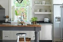 cottage kitchen / by Lisa Pettry