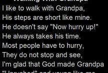 grandparents / by Karlie Burns