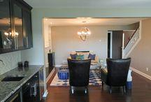 Living Room / Designed by Stephanie K Mader Designs / by Stephanie Mader