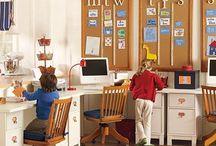 Chambres-Bureaux&Ateliers // Bedrooms-Offices&Craftrooms // Habitaciones-Estudios&Talleres / by Nancy Moreno