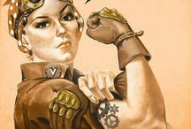 STEAM*Punk! N pin me ups ! / by Sarah Johnson