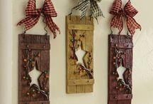 country/primitive crafts n decor / by Sarah Hamlin