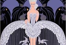 Art Deco & Erte / by Lynda Pitman
