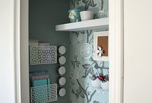 closet office / by Betty Ann Marshall