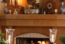 Warmth of a Fireplace / by Lyn Higgs