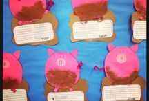 preschool pig crafts / by Leslie Leo-August