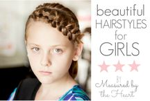 Hair -Little Girls Dos / by Jac F