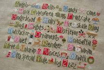 Cross-stitch, Embroidery, Crochet, Knitting / by Kim Shinabery
