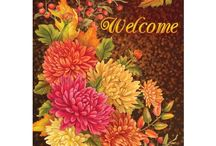 Harvest and Halloween Decorations by LANG / Celebrate a beautiful new season with LANG! Enjoy fall and Halloween mugs, dinnerware, home decor, stationery and much more. / by LANG