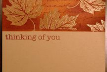 Fall Cards & Craft Ideas / by Stamptastic Designs