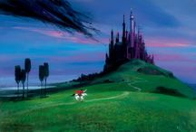 Peter Ellenshaw / by Disney Fine Art