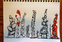 Zentangle Art... / by Cheryl Billmyer