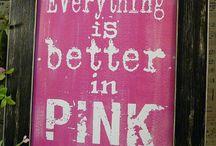 All Pink / Things in pink . / by Deborah Harris